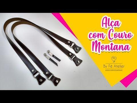Cómo hacer manijas de cuero MONTANA – Por Fê Atelier