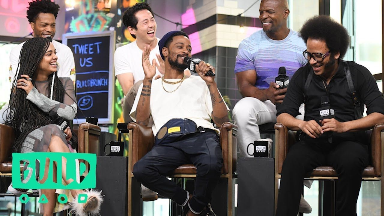 Boots Riley Lakeith Stanfield Tessa Thompson Jermaine Fowler Terry Crews Steven Yeun On Sorry Youtube Terry Crews Tessa Thompson Steven Yeun