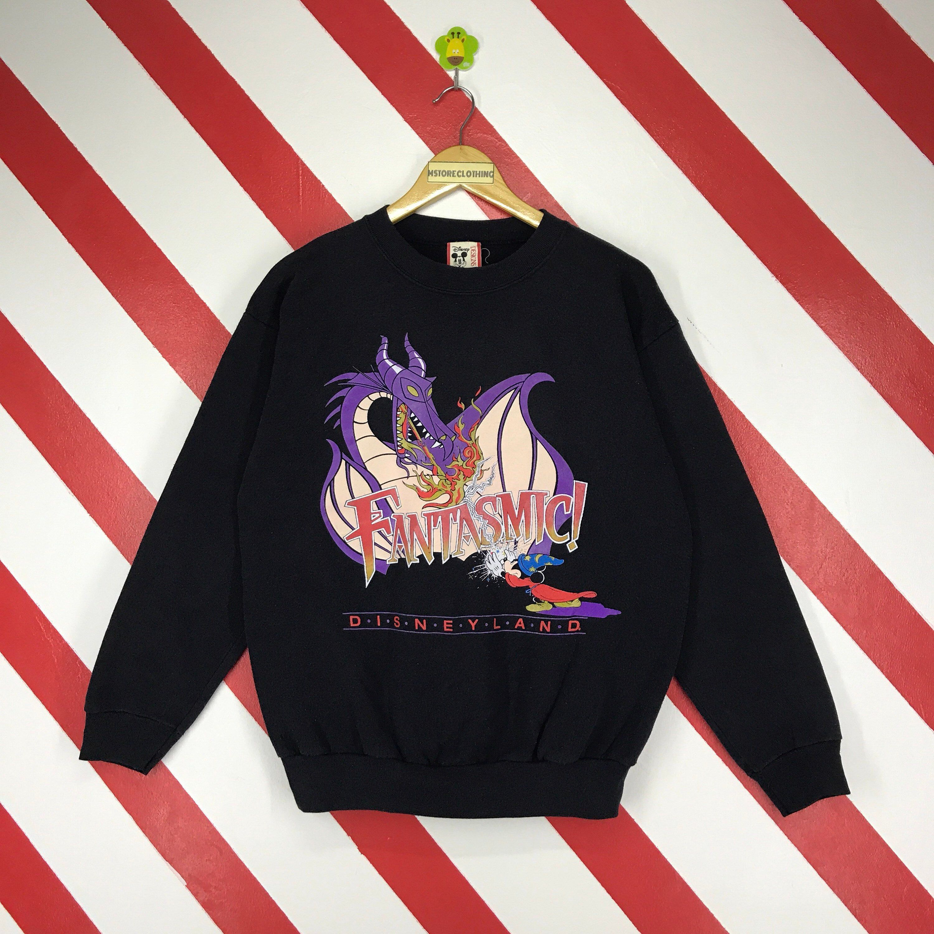 san francisco f8d22 e3dda Excited to share the latest addition to my  etsy shop  Vintage 90s Mickey  Mouse Sweatshirt Mickey Mouse Disneyland Sweater Crewneck Fantasmic Mickey  Jumper ...