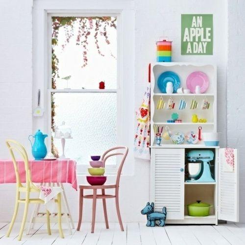 farbgestaltung in der k che bunte ideen f r mehr spa beim kochen resilience pinterest. Black Bedroom Furniture Sets. Home Design Ideas