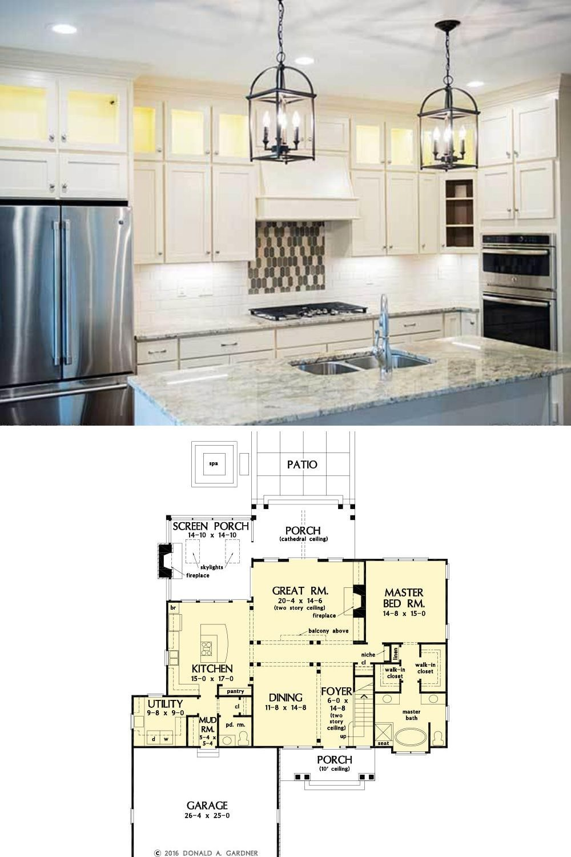 3 Bedroom 2 Story The Oscar Cottage House Plan With Bonus Room Floor Plan Kerstin