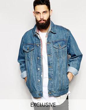 Reclaimed Vintage Oversized Denim Jacket | Asos | Pinterest ...