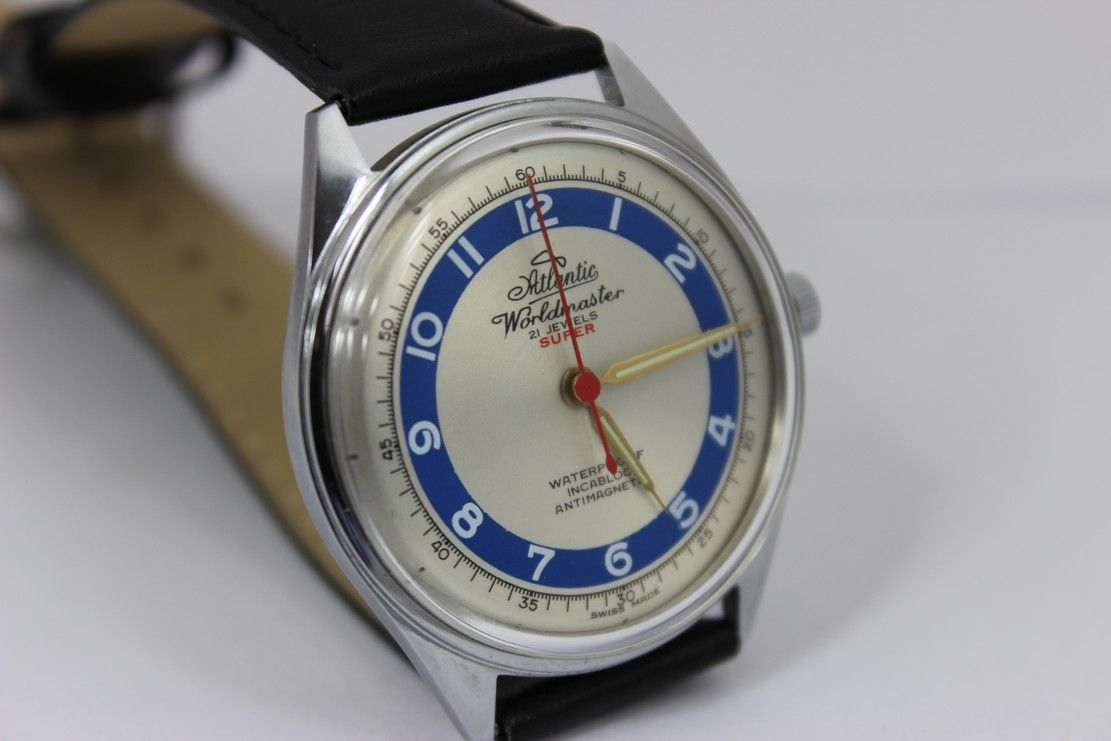 Atlantic Worldmaster 21 Jewels Super Vintage Watches Vintage Watches For Men Watch Collection