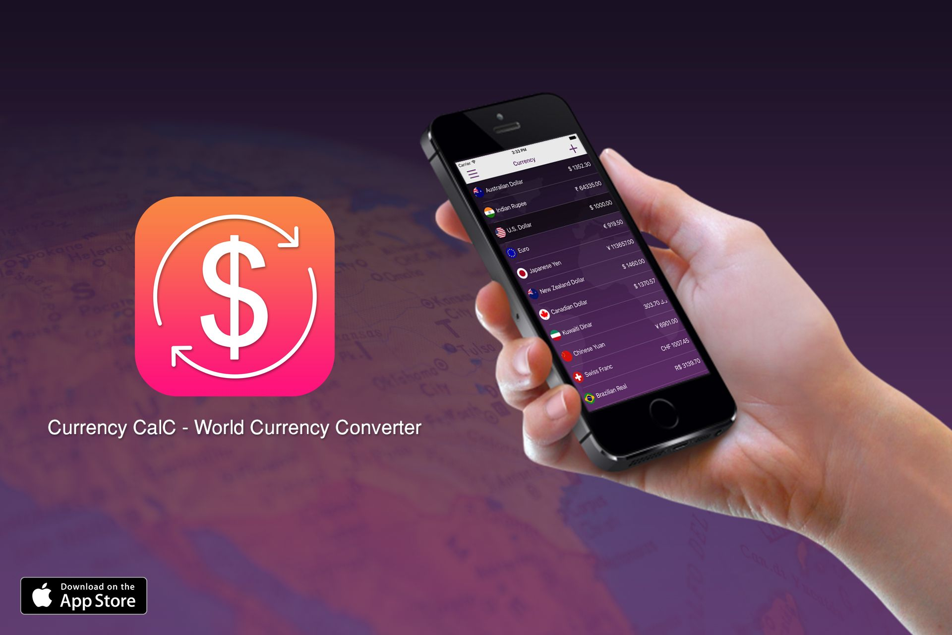 Currency Calc World Converter Calculator