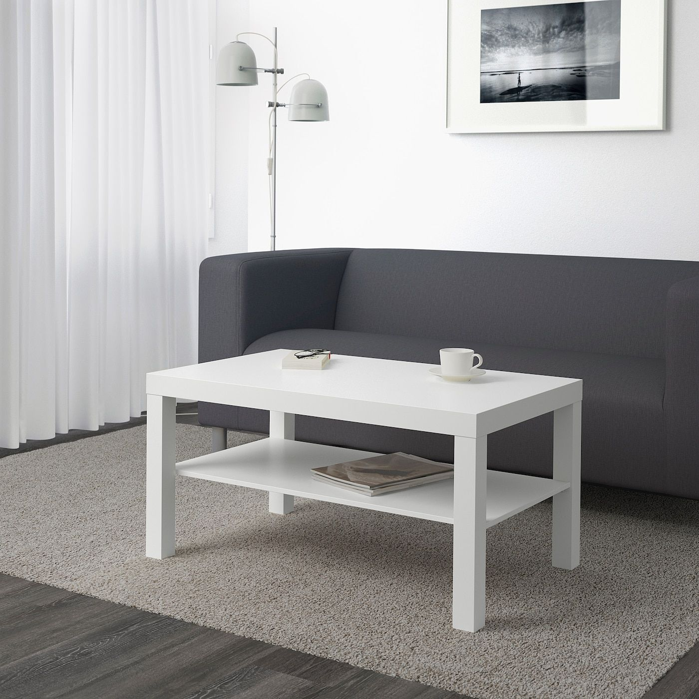 "LACK Coffee table white 35x22x18"" Ikea lack coffee"