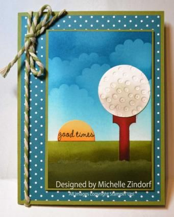 Michelle Zindorf: Freedom in Creating – Fore! – Stampin ...