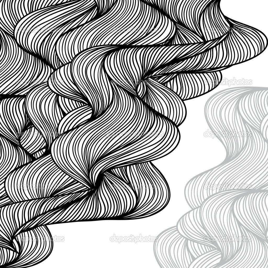 Line Drawing Abstract : Ocean wave line drawing g amazing