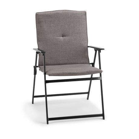 Mainstays Mainstays Padded Folding Chair Beige Padded Folding