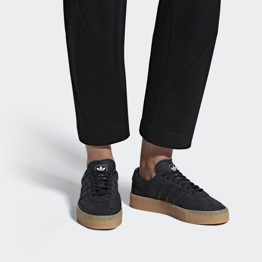 new styles 3a25b 404ca Samba Rose Shoes Black B28157
