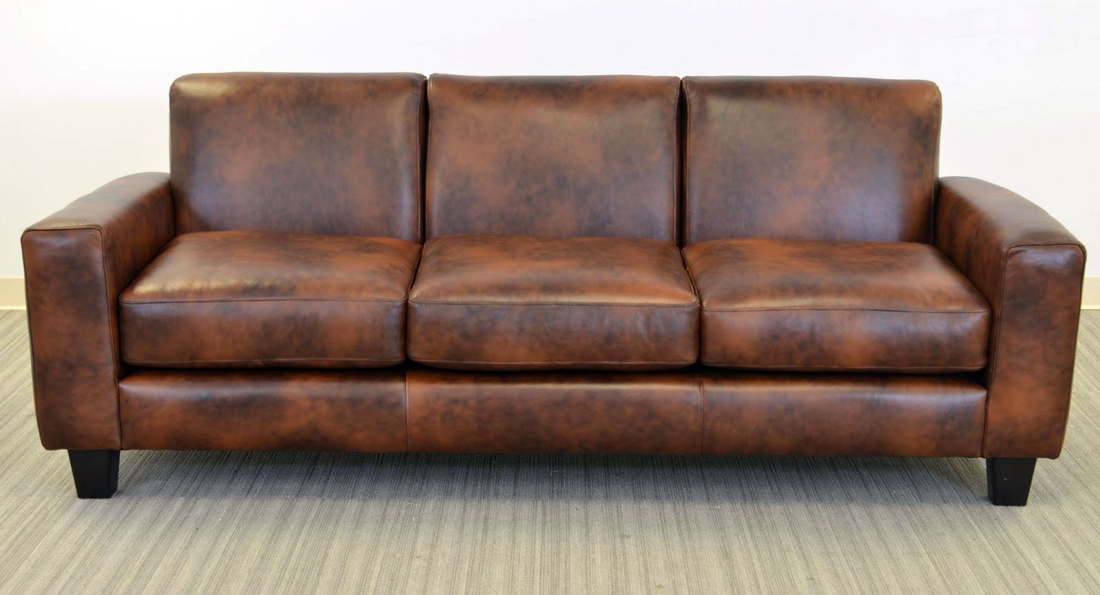 Elegante Sofa ‹‹ The Leather Sofa Company A compact style ...