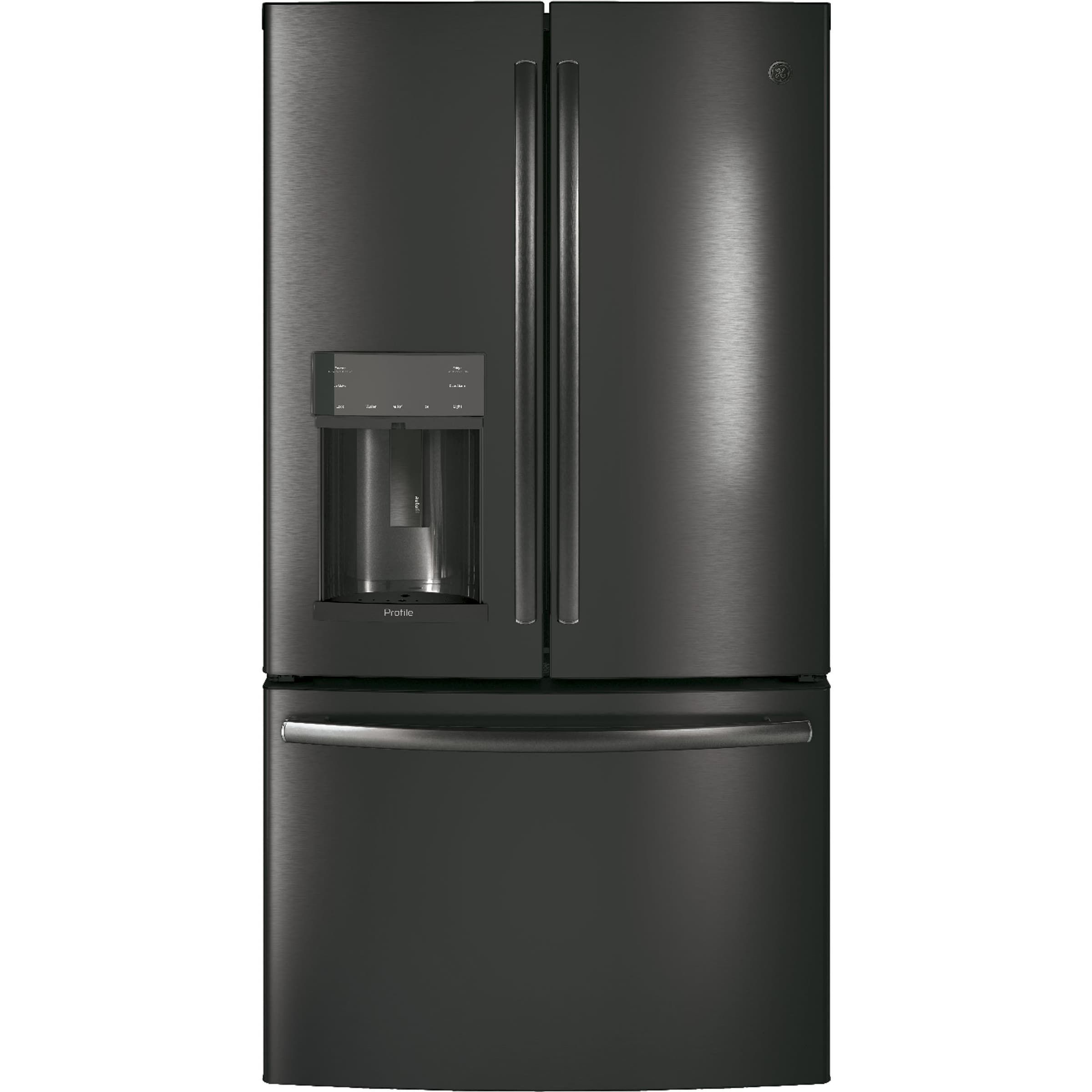 Ge Profile Series Energy Star 222 Cu Ft Black Stainless Counter