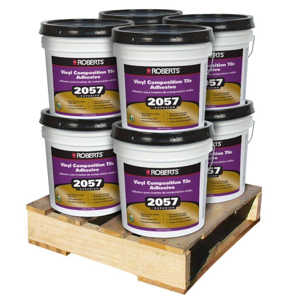 Roberts 4 Gal. Premium Vinyl Tile Glue Adhesive (8 Pail