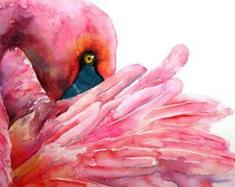 Rosa: Flamingo Print