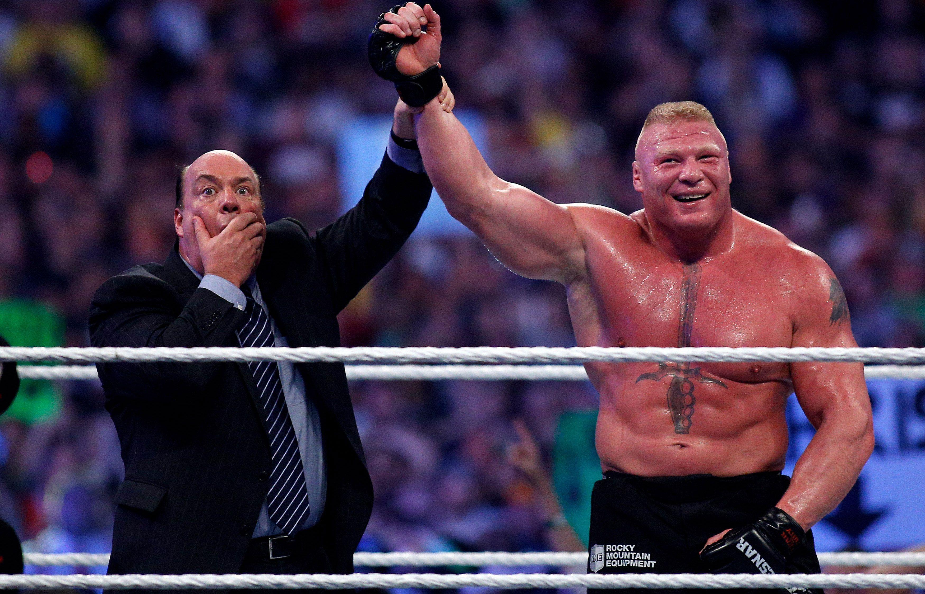 Who Will Headline WrestleMania 31 Brock Rumors Roman Reigns And More