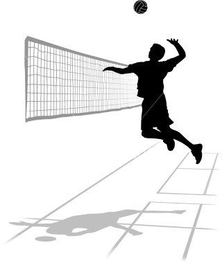 Volleyball court. Clipart awesome and free