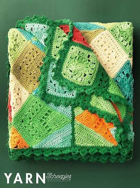 Amazon Blanket Pattern By Rachele Carmona Crochet Blanket