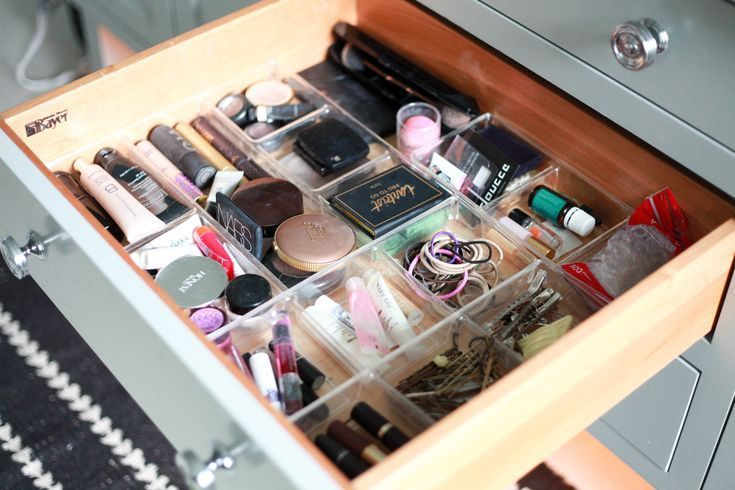 How to Organize Your Makeup Drawer in 5 Easy Steps images