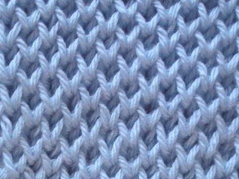 Honeycomb Knitting Stitch How To : Knitting Stitch Patterns Tutorial 4 Honeycomb Knitting Stitch How to - YouTub...