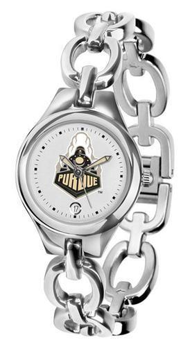 Purdue University Women's Stainless Steel Bracelet Watch
