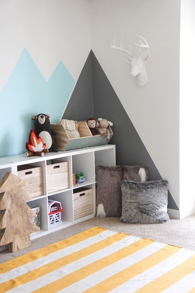 Ispydiy Playroommakeover7 Scandinavian Kids Rooms Colorful Kids Room Minimalist Kids Room