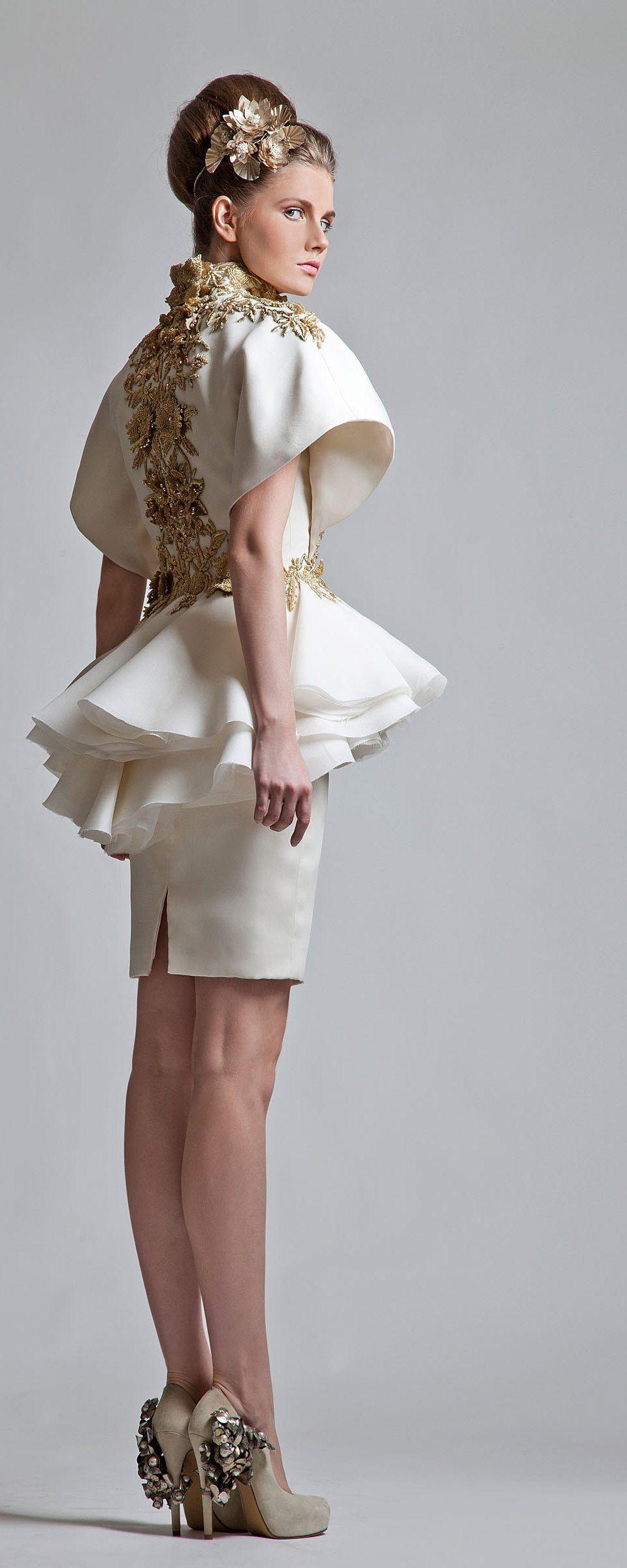 Krikor Jabotian Collection 2013 - Haute couture - http://fr.orientpalms.com/krikor-jabotian-3388