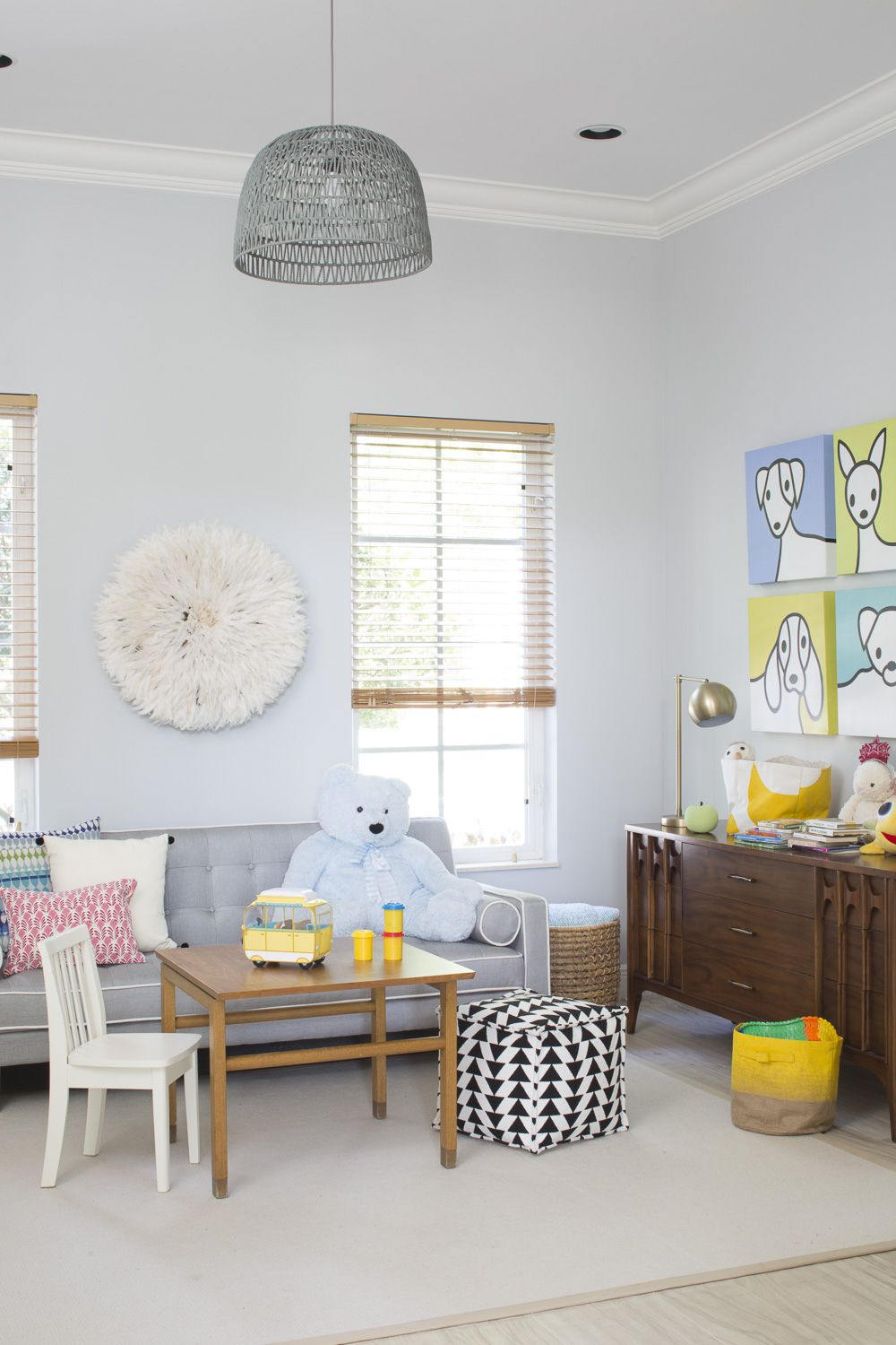Babiekins Magazine A Fresh Modern Nursery Playroom In South Florida