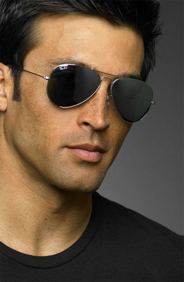 Ray Ban Black Aluminum Clubmaster Sunglasses Rayban