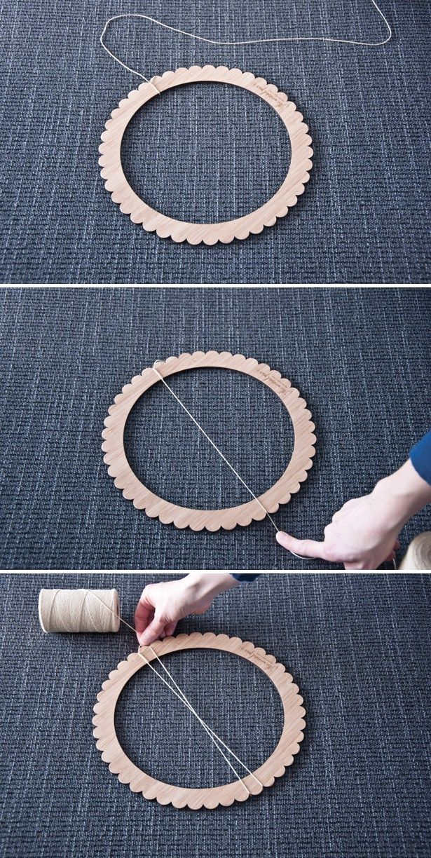 Learn New Stitches on Circle Looms by Anne Bipes: Diamond ...
