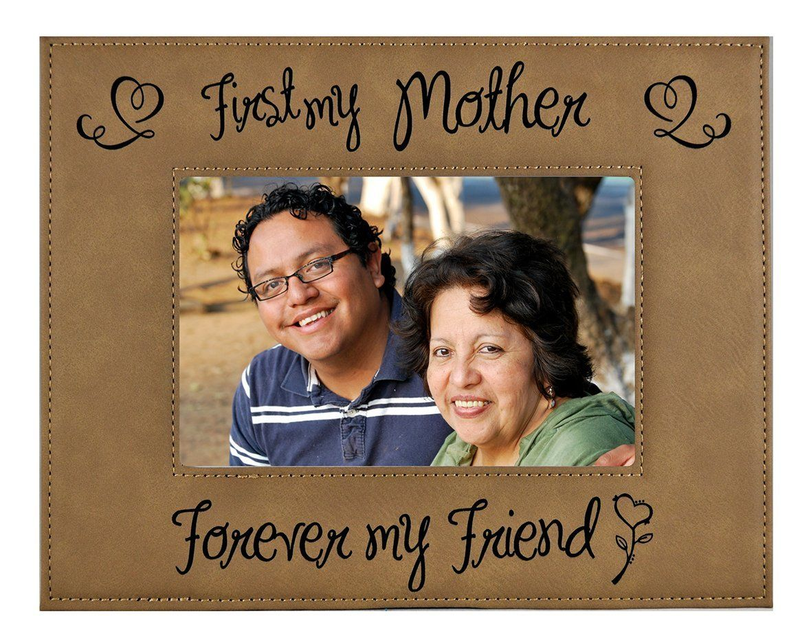 """MOM / MOTHER GIFT ~ """"First my Mother – Forever my Friend"""" Custom ..."""