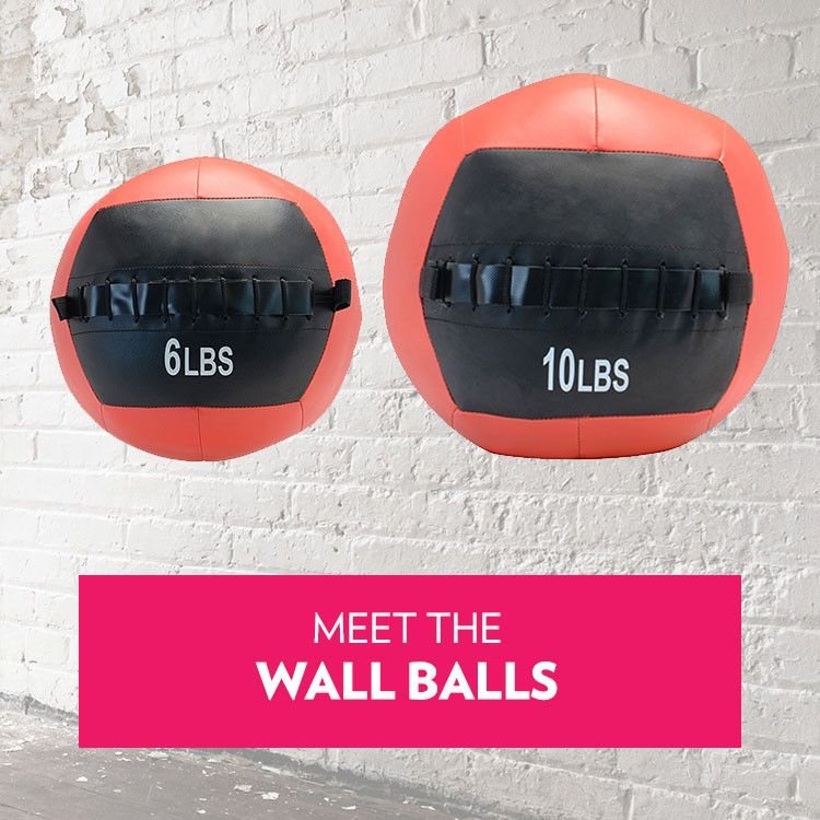 Hiit Wall Ball 6 or 10lbs
