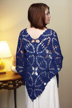 Thread+Crochet+Shawl+Patterns | THREAD CROCHET SHAWL PATTERNS