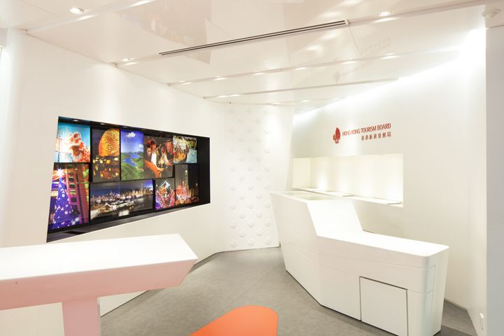 Hong Kong Tourism Board Visitor Center flagship store by Purge