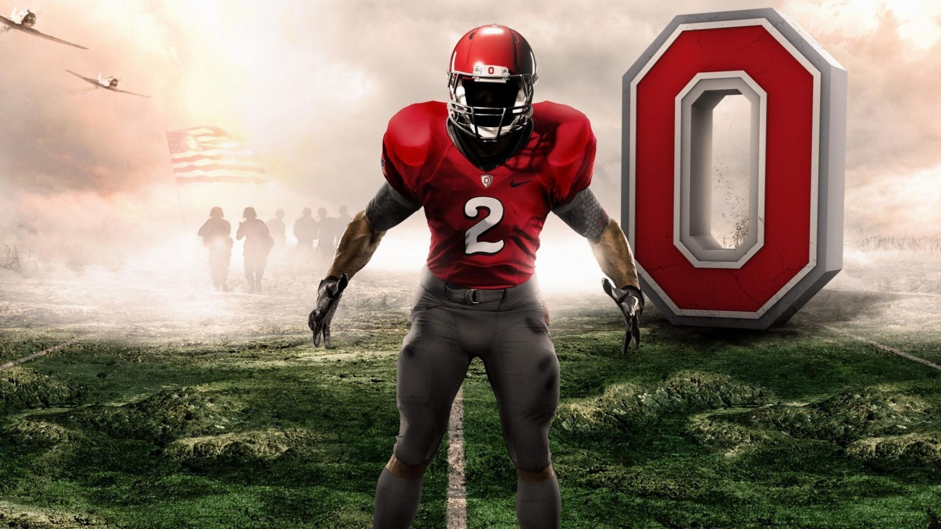 College Football Wallpapers Wallpaper Cave Ohio State Buckeyes Football Ohio State Football Players Ohio State Wallpaper