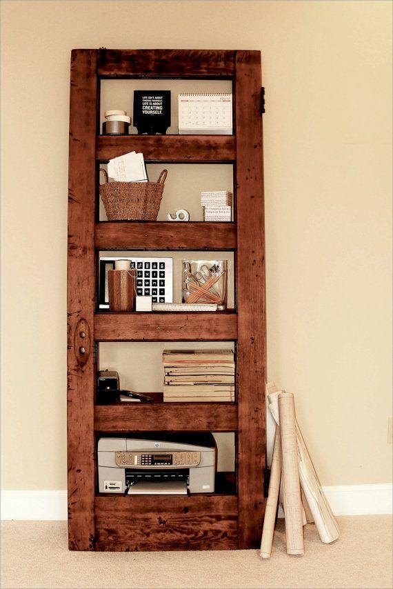 finitura legno chiaro classico di thedoorshelffactory su