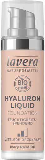 Photo of Lavera Hyaluron Liquid Foundation 00 Ivory Rose (30ml)