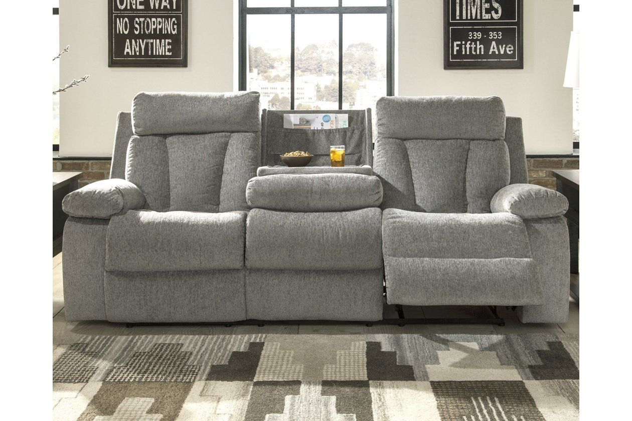 Mitchiner Reclining Sofa With Drop Down Table Ashley Furniture Homestore Reclining Sofa Drop Down Table Sofa