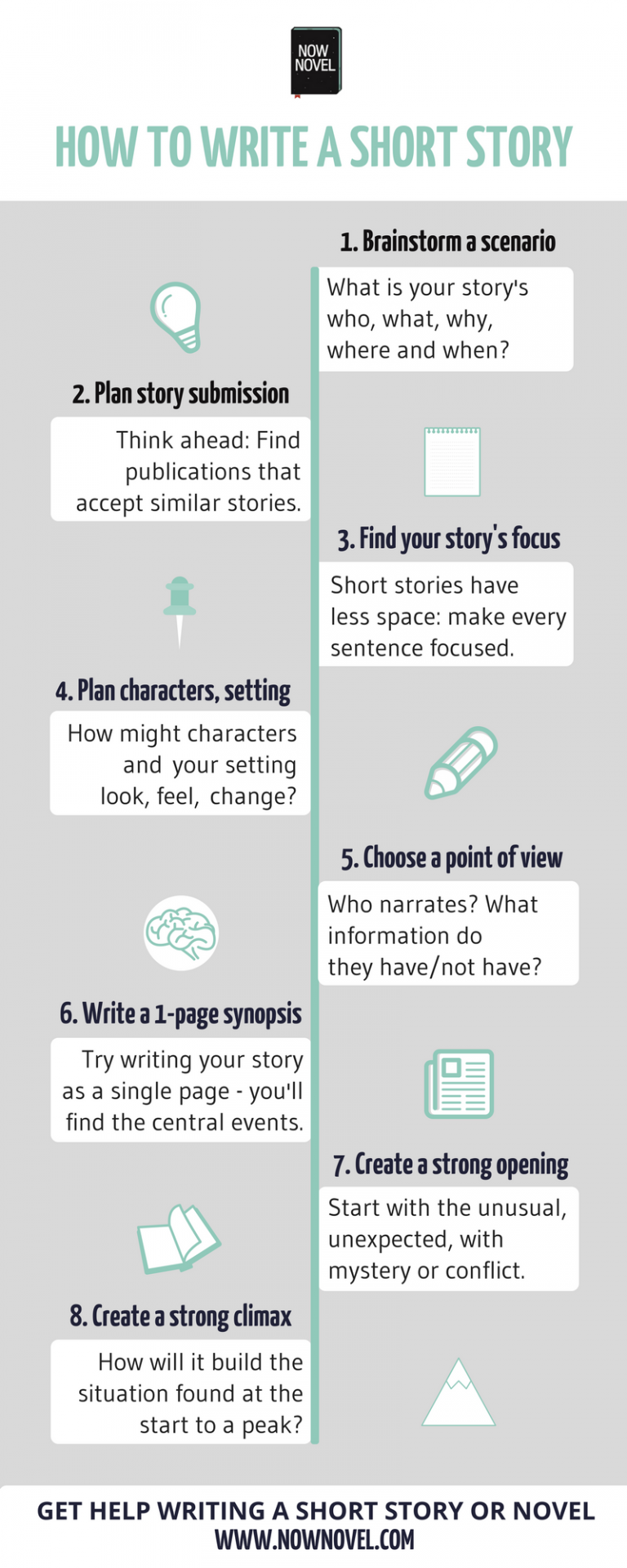 How To Write A Short Story 10 Steps Now Novel Writing Tips Book Writing Tips Writing [ 1920 x 768 Pixel ]