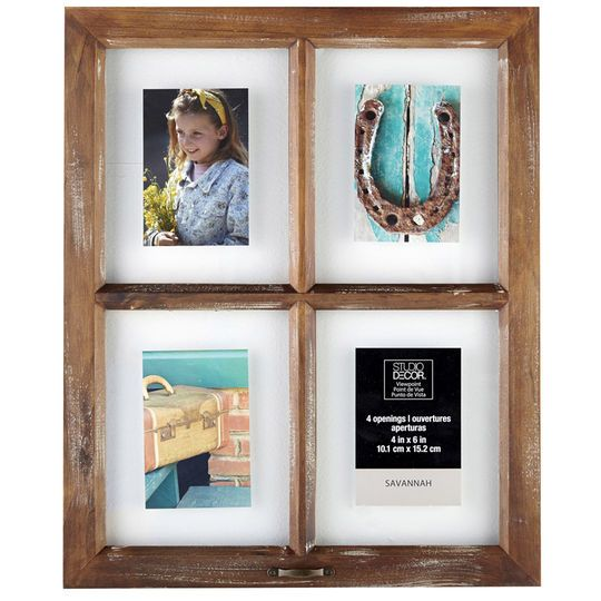 Studio Decor 4-Opening Window Collage Frame, Savannah By Studio ...