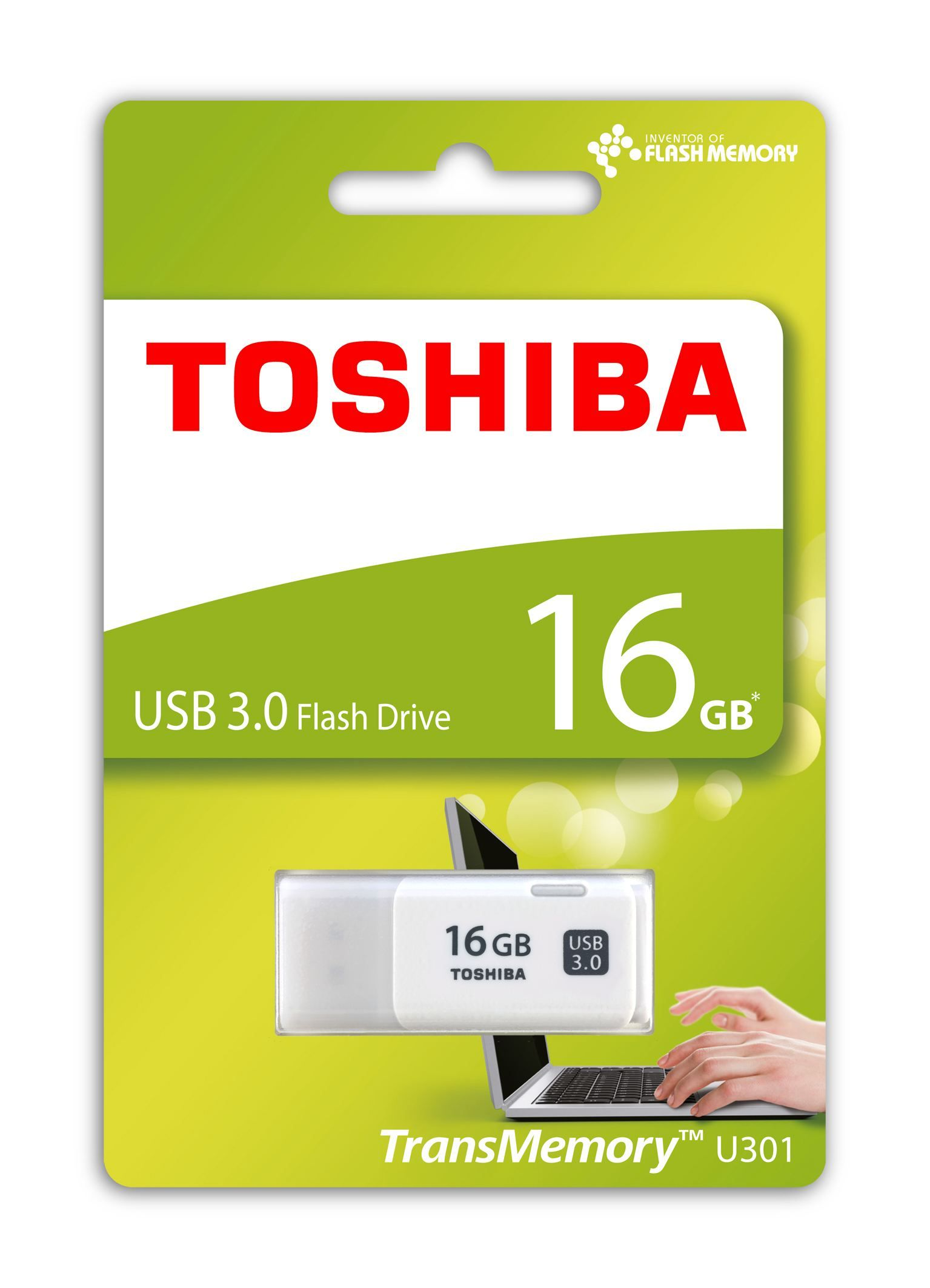 TOSHIBA THN-U301W0160E4 16GB USB 3.0 HAYABUSA BEYAZ