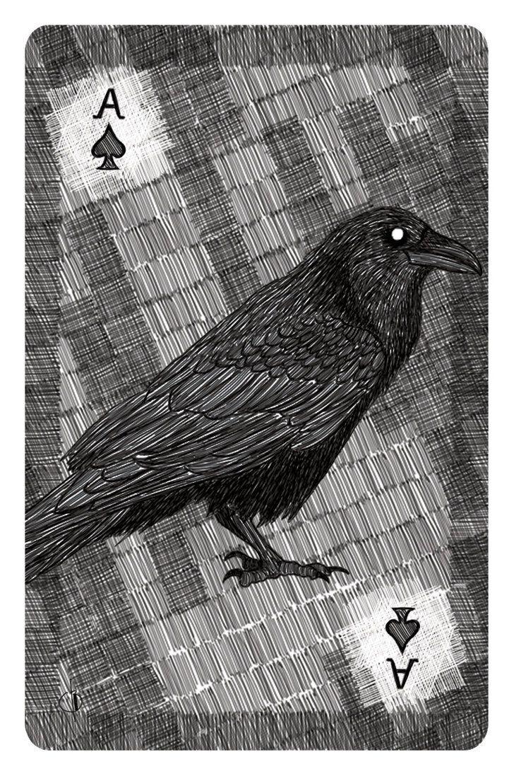 Ace of spades by zicknovitch