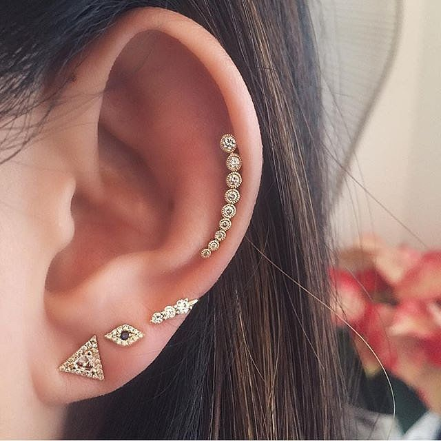 3ce660e12 This Is the Next Big Thing in Earrings | On The Blog | Piercings ...