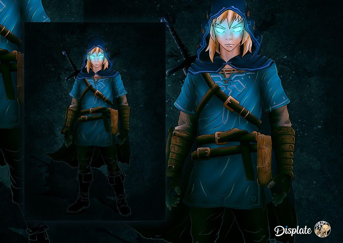 Zelda Fantasy Poster Print Metal Posters Di 2020