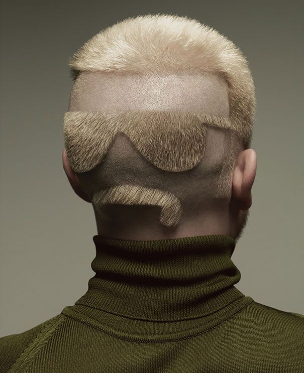 30 Of The Craziest Haircuts Ever Weird Haircuts Hair Humor Cool Hairstyles