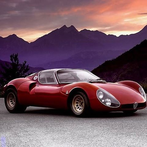Alfa Romeo Tipo 33 Stradale. Retro CarsVintage ...