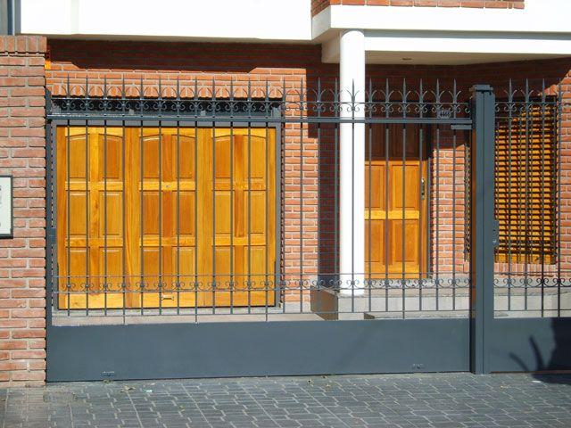 Trabajos de herreria puertas y portones de rejas ideas for Rejas y portones