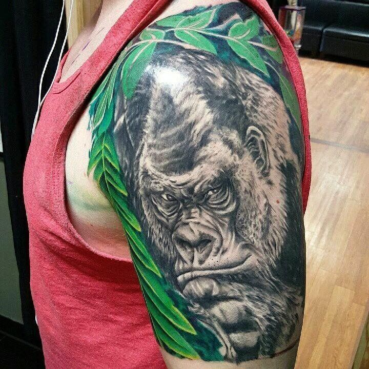 Wildlife Tattoo by Shannon from Painted Pony Tattoo