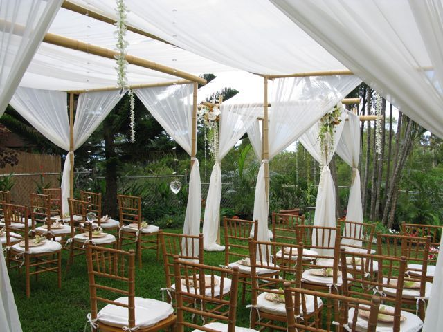 Parasols  wedding guests parasol Ceremony Canopy With Hanging Crystalsorchids : wedding ceremony canopy - memphite.com