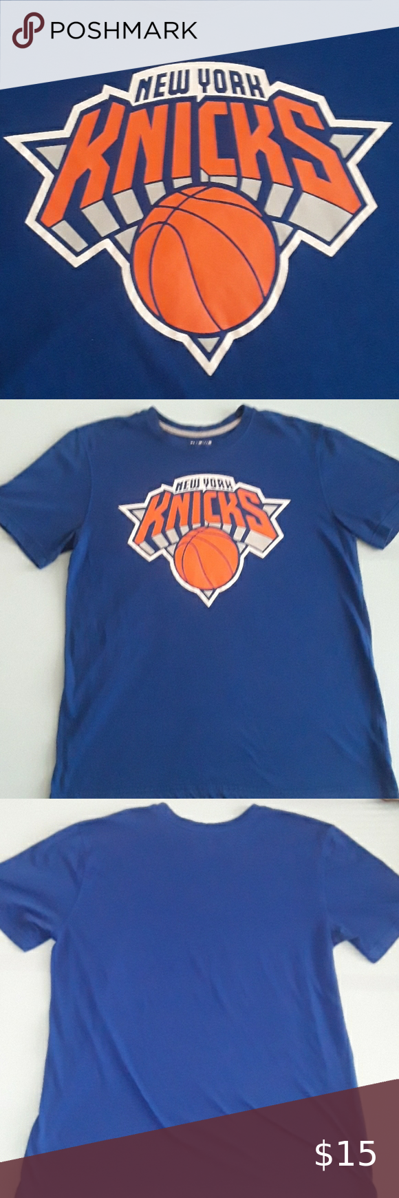 Ny Knicks Vintage Tee Vintage Nba T Shirt New York Knicks Large Great Condition Nba Shirts Tees Short Sleeve In 2020 Nba T Shirts Vintage Tees Ny Knicks