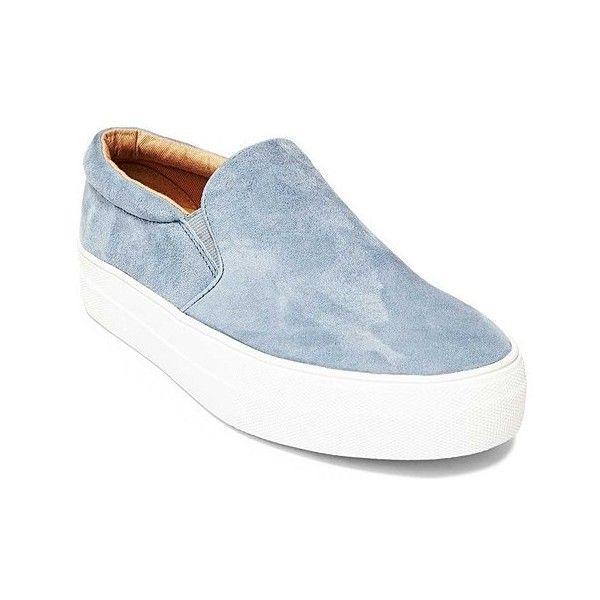 bcbd12ef272 Women s Steve Madden Gills Slip On Platform Sneaker ( 80) ❤ liked on Polyvore  featuring