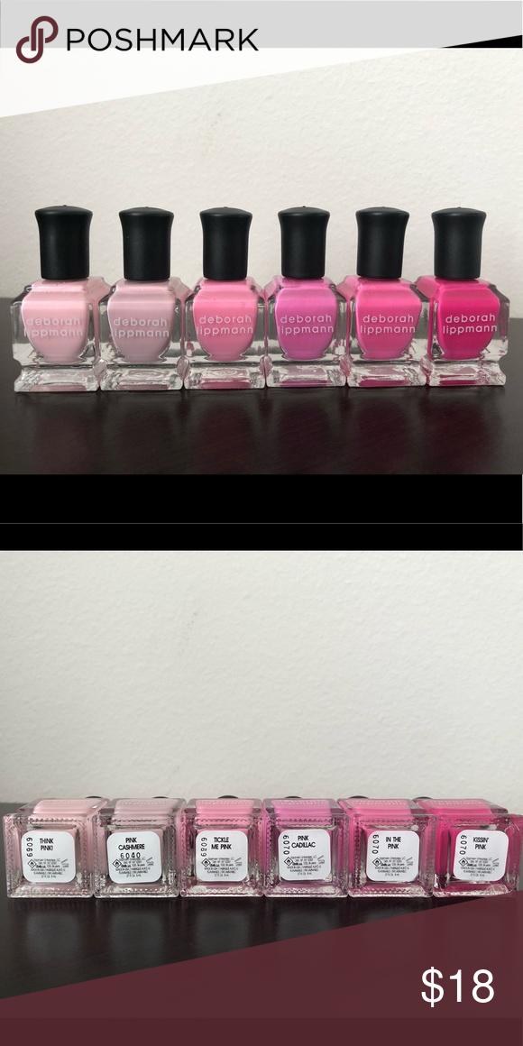 Deborah Lippmann Mini Polish Pink polish, Makeup tools